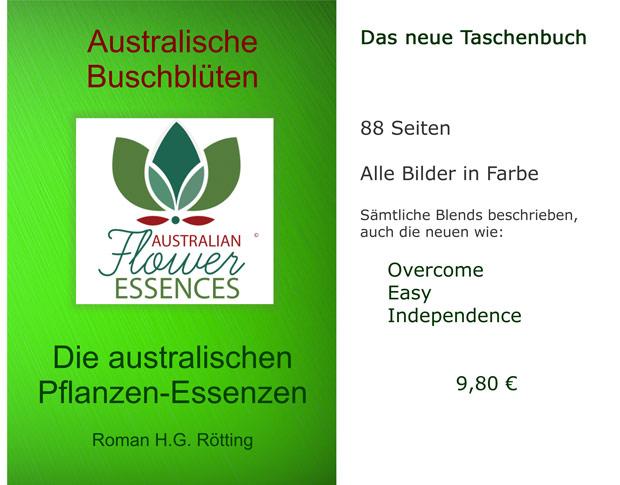 Taschenbuch Australische Buschblüten Pflanzenessenzen von Roman H.G. Rötting